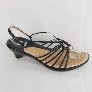 SÖFFT black sandals size 8.5